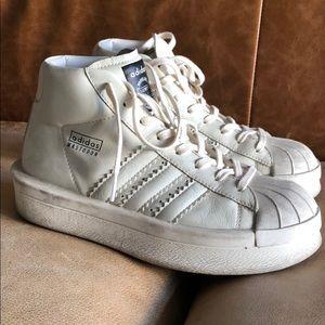 Rick Owens Shoes - Adidas x Rick Owens Mastadon Sneakers